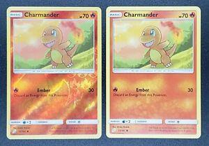 Pokemon CHARMANDER 12//181 Rev Holo Team Up MINT