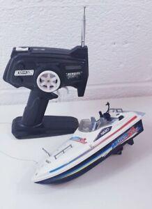 NIKKO-Star-Vintage-RC-Water-Barca-Giocattolo-Da-Collezione-Stile-Retro-1980s-1990s