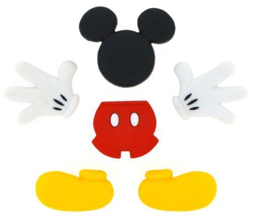 Jesse James vestirla Botones ~ licencia-Disney Todo Mickey Mouse