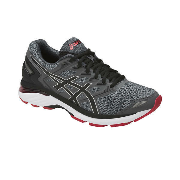 Asics GT-3000 5 Carbon  Black  Prime Red Mens Running shoes