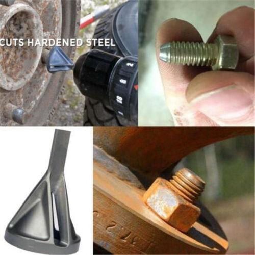 Repair Deburring Chamfer Metal Chuck Drill Tools Device Screw External LP