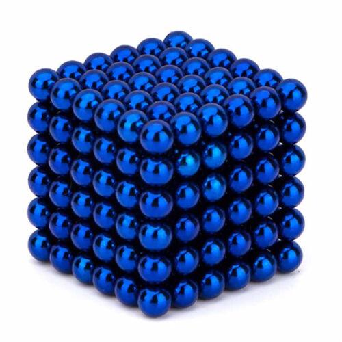 216 Stück Neodyme 5mm Magnete Kugeln Dekompression Kinder Spielzeug Stresskiller
