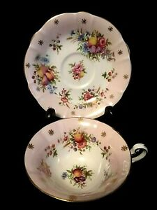 """EB Foley"" Tea Cup & Saucer Set - Made in England"