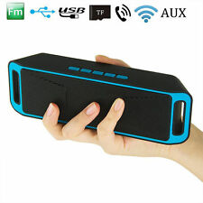 Wireless Bluetooth 4.0 Speaker USB Flash FM Radio Stereo Super MP3 Player