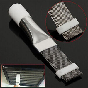 Heat-Dissipating-Fin-Comb-Brush-Cooling-Tool-A-C-Condenser-Coils-Straightener