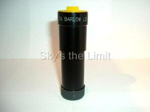 Sky-039-s-the-Limit-1-25-034-3x-Achromatic-Barlow-Lens