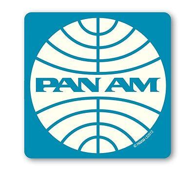 USA - Airline - Pan Am Logo - Coaster - Untersetzer - Bierdeckel - LOGOSHIRT