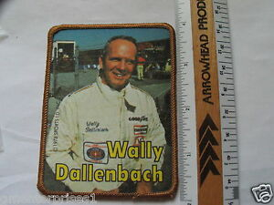 Wally Dallenbach Vintage Race Car Driver Racing Patch (#498) *
