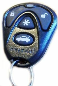 DEI-Avital-Black-Replacement-Remote-Transmitter-Controller-Key-Fob-New-7143R