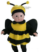 Sale Bumblebee Halloween Costume For Bitty Baby Boy Girl + Twins Doll Clothes