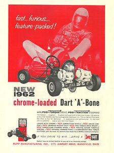 Details about Vintage & Rare 1962 Rupp Dart Kart A-Bone Go-Kart Ad