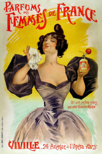 Vintage French Art Nouveau Shabby Chic Prints & Posters 104 A1,A2,A3,A4 Sizes