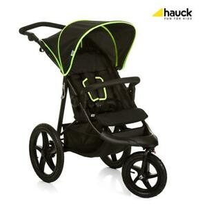 Hauck-Runner-3-Wheel-All-Terrain-Stroller-Black-Neon-Yellow-RRP-199-99