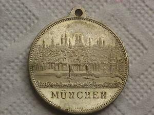Münzen Gelegenheitsmedaillen Medaille 1888 Kunstgewerbe München KöStlich Im Geschmack Sd242