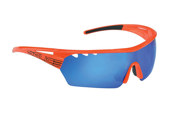 Brille Salice MOD. 006 RW orange Linse rainbow blue glasses Salice 006RW orange