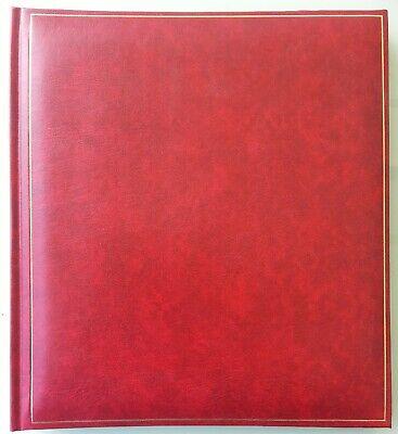 """Sammeln & Seltenes Ansichtskarten-album """"henzo"""" Postkarten-album Rot Foto-album Leer Modische Muster"""