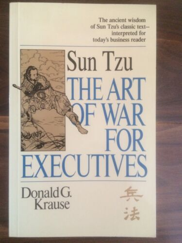1 of 1 - ART OF WAR FOR EXECUTIVES, DONALD G. KRAUSE
