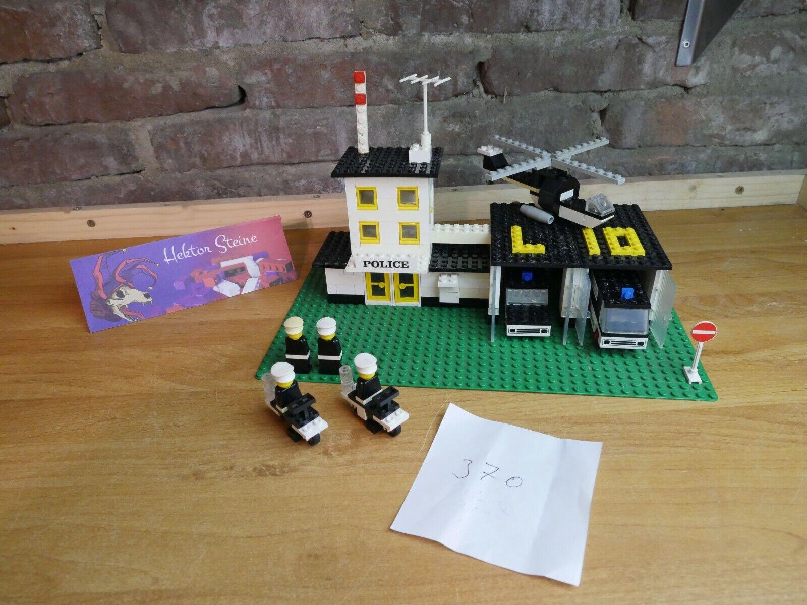 LEGO® 370 Police Headquarters   Polizei Hauptquartier von 1976