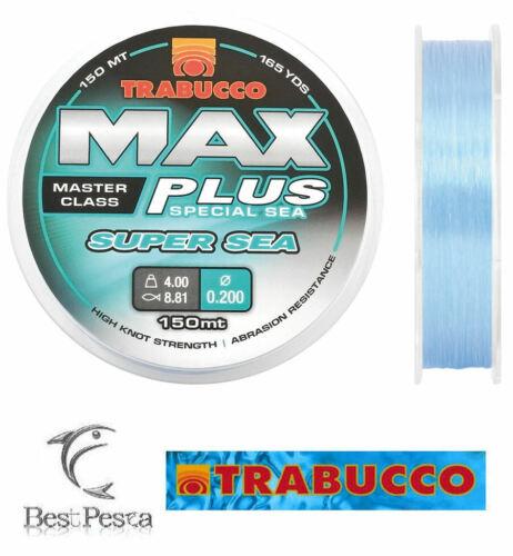 0,30 Filo da Pesca TRABUCCO MAX PLUS SUPER SEA 1000mt