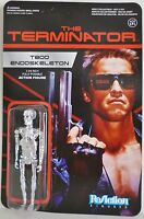 T-800 Endoskeleton Chrome The Terminator 3 3/4 Inch Reaction Retro Figure 2014