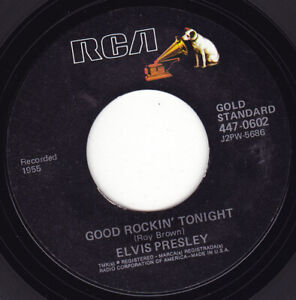 "ELVIS PRESLEY - Good Rockin' Tonight 7"" 45"