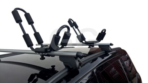 Kayak Carrier for Car Roof Rack Bars Universal Fitment Hull A Port