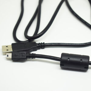 10x 1M//3.3ft Black 28AWG USB A Male Plug 2 wire Power Cable Cord Connectors DIY