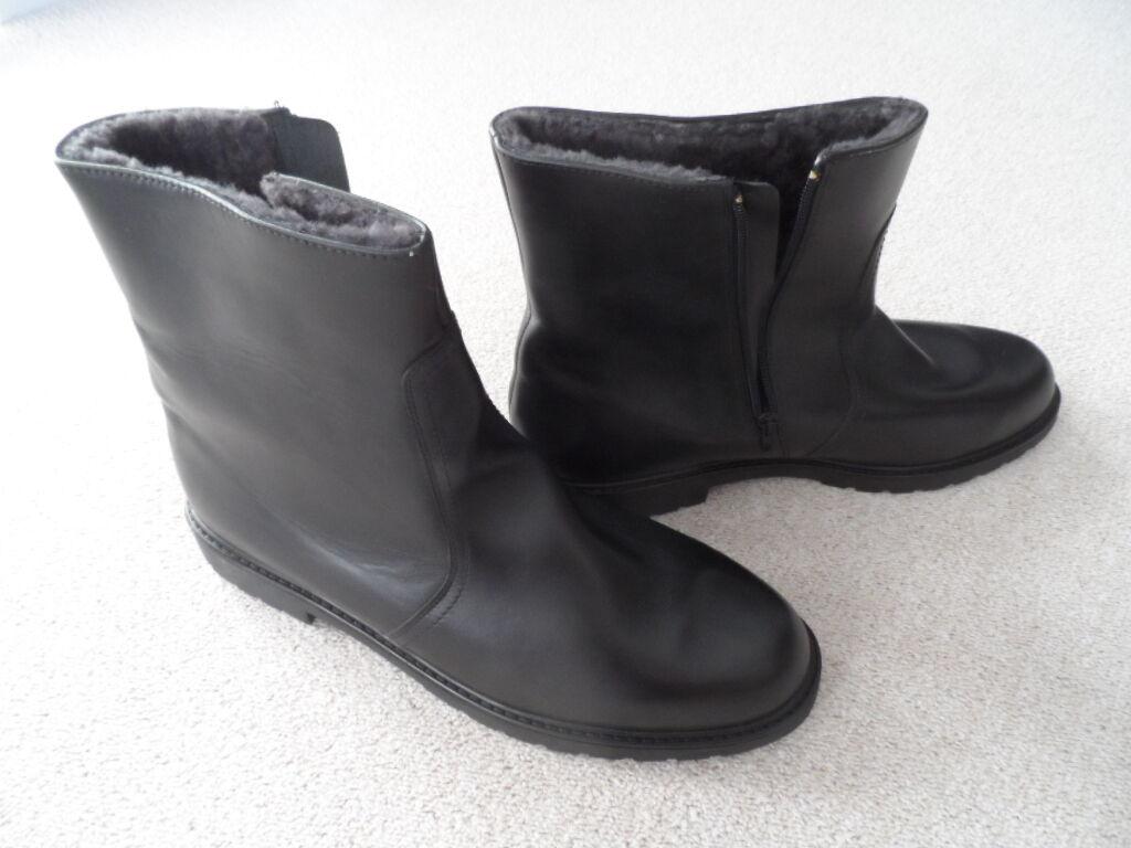 Profil Winterschuhe Winterstiefel warme Schuhe Lammfell verschiedene Größen NEU