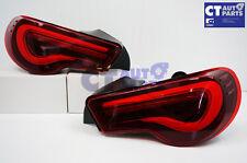 VALENTI SMOKED RED LED Tail light Toyota 86 GTS Subaru BRZ ZN6 Seqnential Blinke