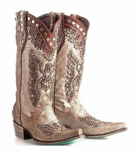 NEW DOUBLE D RANCH SIZE 9, BRAVE EAGLE BOOTS   WESTERN COWGIRL COWBOY