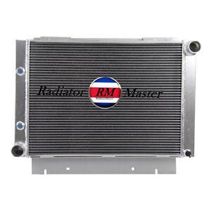 Alluminio-Radiatore-Per-1960-1963-Ford-Galaxie-500XL-Galaxie-Base-1961-1962-V8