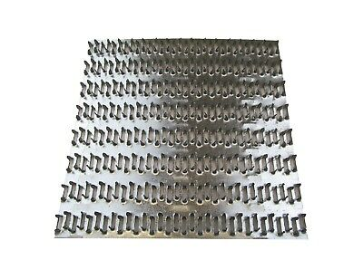 "Mending Plate 100 QTY  6/"" x 8/""  Truss Plate Structural Plates Zinc nail tooth"