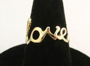14KT-GOLD-EP-SCRIPT-LOVE-WORD-RING-SIZE-9