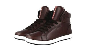 Sneaker Shoes New New 42 Top Brown 5 8 4t2842 lusso High 42 Prada di AXqzH1wrA