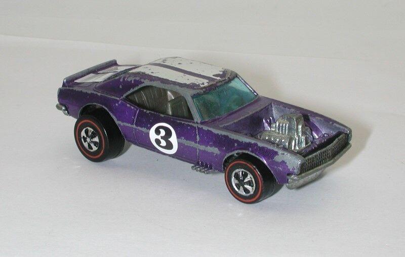rougeline Hotwheels violet 1970 Heavy Chevy oc15922