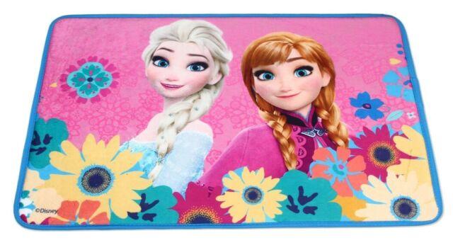 Frozen Fiori Tappeto Tappetino 40x60cm Memory,Bagno,Scendiletto,Camera Bambini