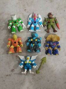 Lot-of-7-Battle-Beasts-One-weapon-Hasbro-Takara