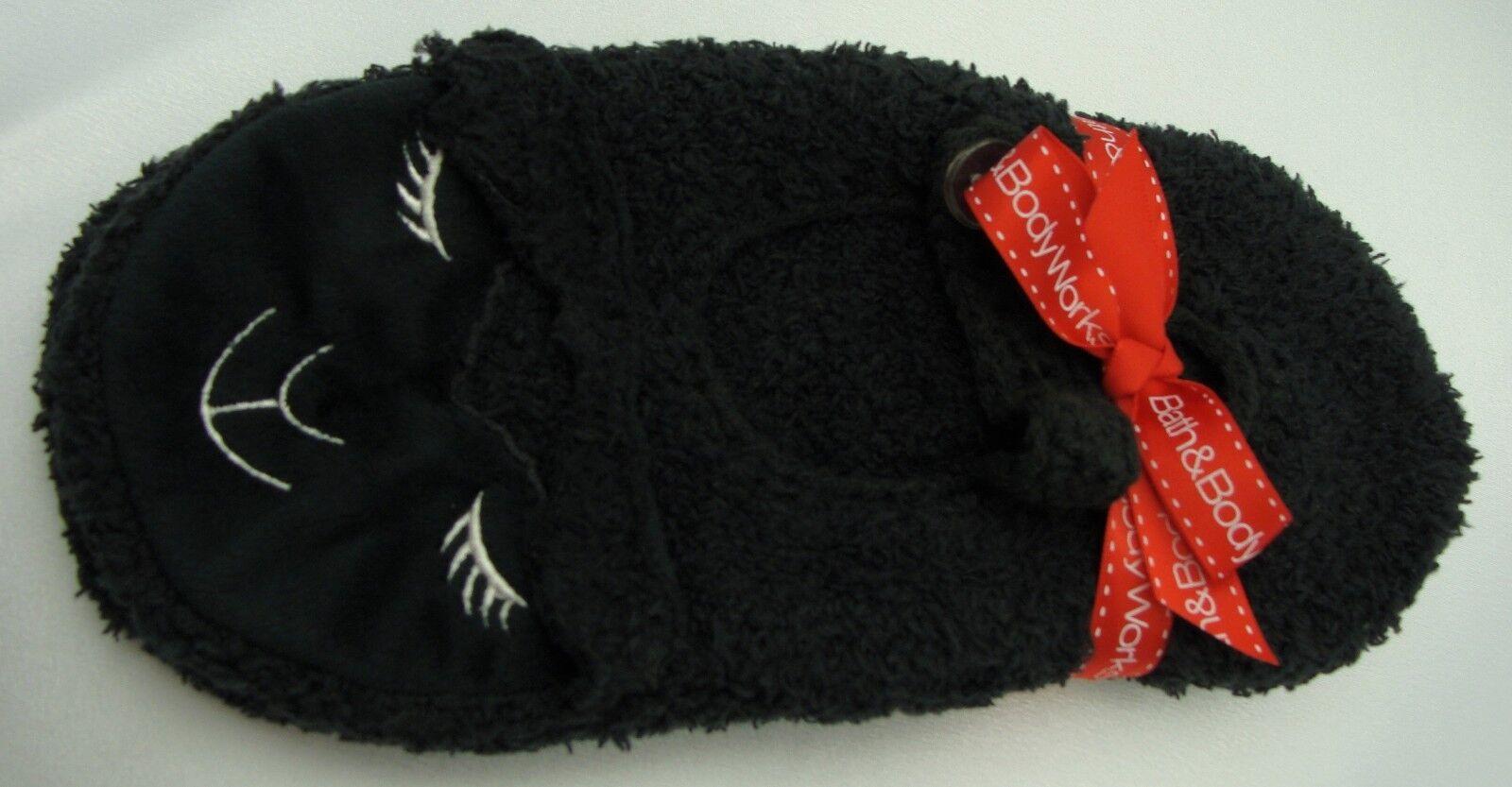 Bath Body Works Original BLACK LAMBIE Slippers Socks NEW Most One Größe Fits Most NEW 4ad40d