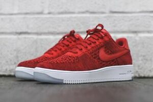 Details about Nike Air Force 1 Ultra Flyknit Low Red Men's US 9.5 Brand New!
