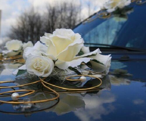 B3 Brautauto Dekoration Autoschmuck Hochzeitsauto Auto Schmuck Autodeko