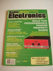 Details about RADIO ELECTRONICS Magazine, DECEMBER 1989, PROGRAMMABLE  PHASOR PROPERTY GUARD!