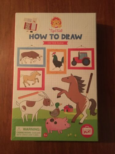 Tiger Tribe How To Draw Set On the Farm Arts and Crafts