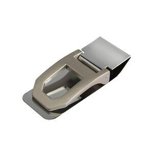 Men-039-s-Pocket-Slim-Stainless-Steel-Cash-Money-Clip-Credit-Card-Wallet-Holder-New