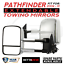 Bettaview-Extendable-Towing-Mirrors-Nissan-Pathfinder-2004-To-2013-Chrome thumbnail 1