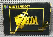 ZELDA Ocarina of Time - Nintendo 64 N64 - PAL FAH - Boite & Notice