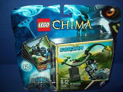 LEGO Chima 70109 Gorzan Speedorz w// Ripcord Minifigure Minifig NEW