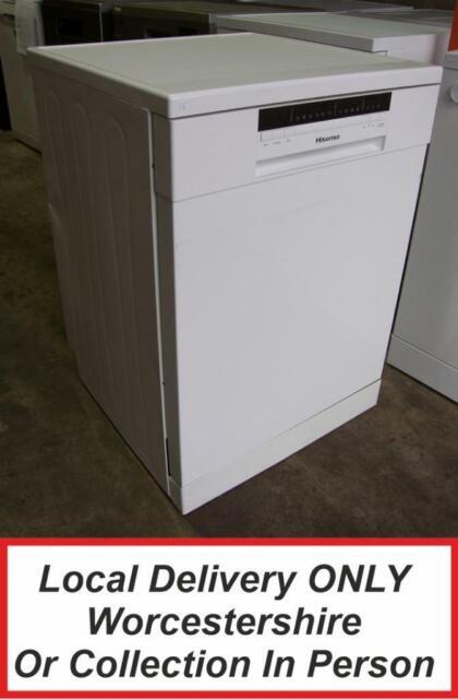 Hisense HS60240WUK White Full Size Dishwasher Energy Rating A++ PDW TL