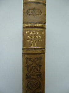 SCOTT (Walter). Kenilworth. Oeuvres de Walter Scott Tome XI. 1843 - France - SCOTT (Walter). Kenilworth. Oeuvres de Walter Scott Tome XI. Traduction de M. Defauconpret avec des éclaircissemens et des notes historiques. Paris: Furne (1843). In-8, 448 pages, frontispice, plan dépliant, reliure en demi-basane. Etat: Frotte - France