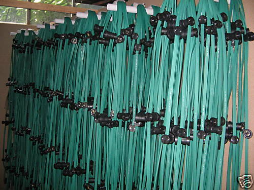 4772  Illu-Lichterkette 30m 45 Fassungen E27 Partykette grün