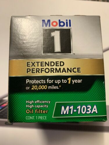 m1-103a 2009 Toyota Camry Mobil 1 Oil Filter